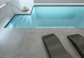 Pool Deck Sundeck